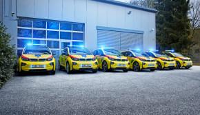 BMW půjčilo elektromobily záchrankám