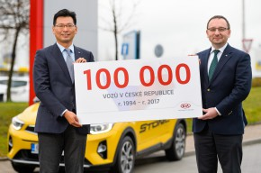 Kia sold over 100,000 cars in the CR