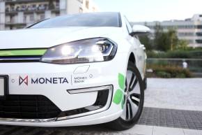 Moneta nakoupí 150 služebních e-Golfů