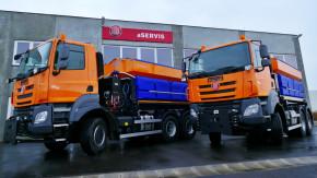 Tatra má zakázku na auta pro údržbu silnic