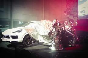Porsche: 300 lidí na premiéře Cayenne