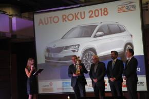 Autem roku 2018 je Škoda Karoq