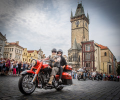 Rolling Stones at Harley's celebrations in Prague