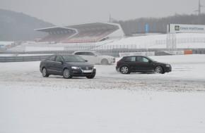 Winter Challenge slibuje na dráze sníh