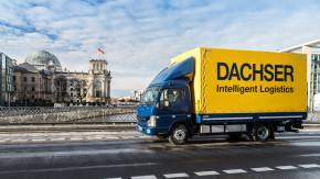 Dachser nasazuje nákladní elektromobily