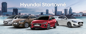 Hyundai Startovné nabízí bonus na nový vůz