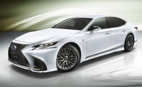 Aerodynamický tuning pro nový Lexus LS