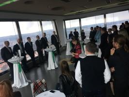 Manažeři AČSS slavili v Žižkovské věži