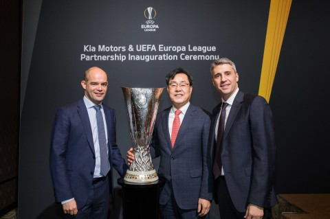 Kia Motors & UEFA Europa League Partnership Inauguration Ceremony