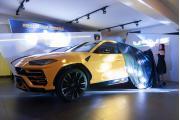 Lamborghini Urus mělo premiéru v Praze