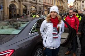 Audi Team pogratuloval Ester Ledecké