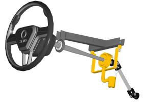 Construct má nový způsob zamykání volantu