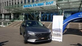 Hyundai ukázal model Nexo na ČVUT