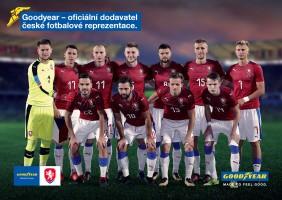 Goodyear sponzorem českého fotbalu
