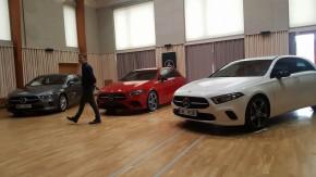 Mercedes ukázal A-Klasse na Zichovci