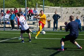 Fotbalový turnaj Prologisu vyhrála DHL