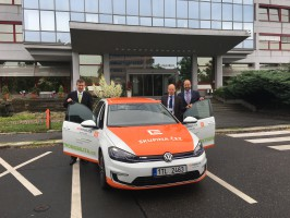 Environment Ministry has an electric car from ČEZ