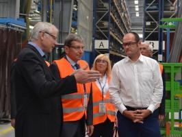 Iveco navštívil ministr průmyslu a obchodu