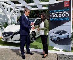 Nissan v Evropě zaregistroval 100 Leafů