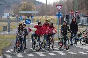Most: děti si osvojovaly zásady cyklisty