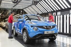 Nissan vyrobil v Sunderlandu miliontý Juke
