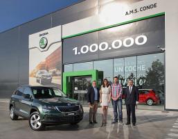 Škoda vyrobila své milionté SUV