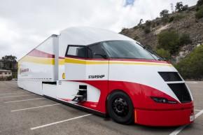 Shell testuje superúsporný kamion