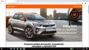Economia spustila web na malá SUV