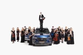 Prague Philharmonia jezdí už 5 let s Hyundaiem