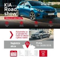KIA startuje třítýdenní Roadshow 2018