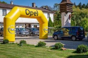 Opel Combo měl premiéru na Karlštejně