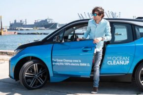 BMW zajistí mobilitu nadaci The Ocean Cleanup