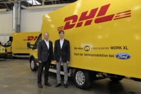 Ford vyrábí elektromobily pro Deutsche Post