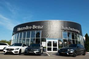 AutoTechnologi otevřela servis Mercedesu
