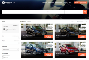 Volkswagen FS dodá auta do HoppyGo Business