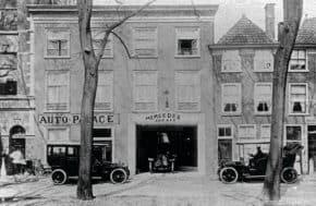 Auto Palace vzpomněla na začátky v roce 1908