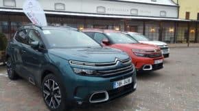 Citroën chce letos prodat 750 Aircrossů C5