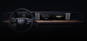 Honda ukázala palubní desku elektromobilu