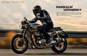 Časopis Motocykl slaví 28 let novou podobou