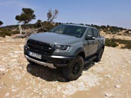 Novináři testovali Ford Raptor v Maroku
