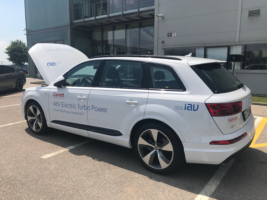 Garett ukázal v Brně Audi Q7 s E-Turbem