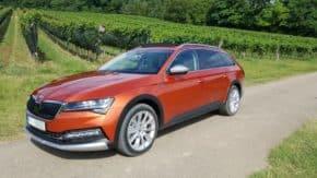 Škoda předvedla facelift Superbu u Vídně
