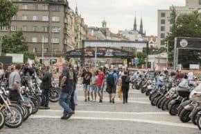 Holešovice hostily Prague Harley Days 2019