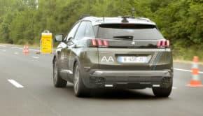 PSA testoval průjezd autonomních vozů mýtnicí