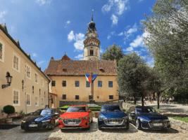 Audi vozilo hvězdy MHF Český Krumlov