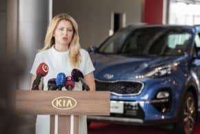 Čaputová se objevila v Kia Motors Slovakia