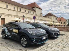 Kia e-Niro vozí hosty festivalu na Špilberk