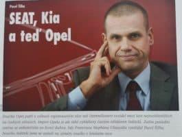 Před 10 lety: Opel začal resuscitovat Pavel Šilha