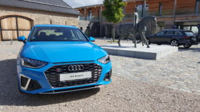 Archleb ukázal nové Audi A4 a Q7 v Horse Parku