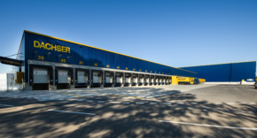 Dachser investoval ve slovenském Lozornu